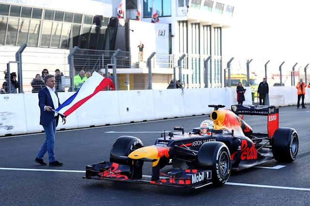 "Max Verstappen, Red Bull RB8 <span class=""copyright"">Red Bull Content Pool</span>"