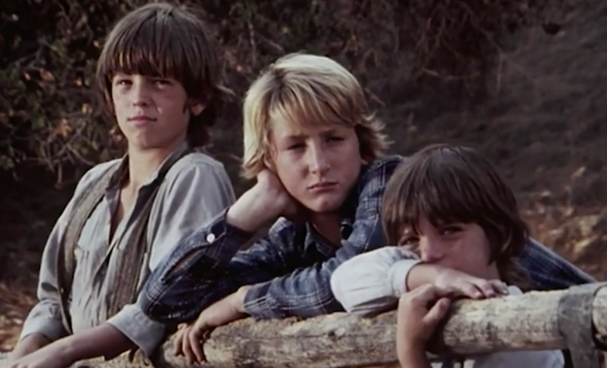 Sean Penn made his acting debut on the classic TV series, 'Little House on the Prairie' (Photo: NBC)