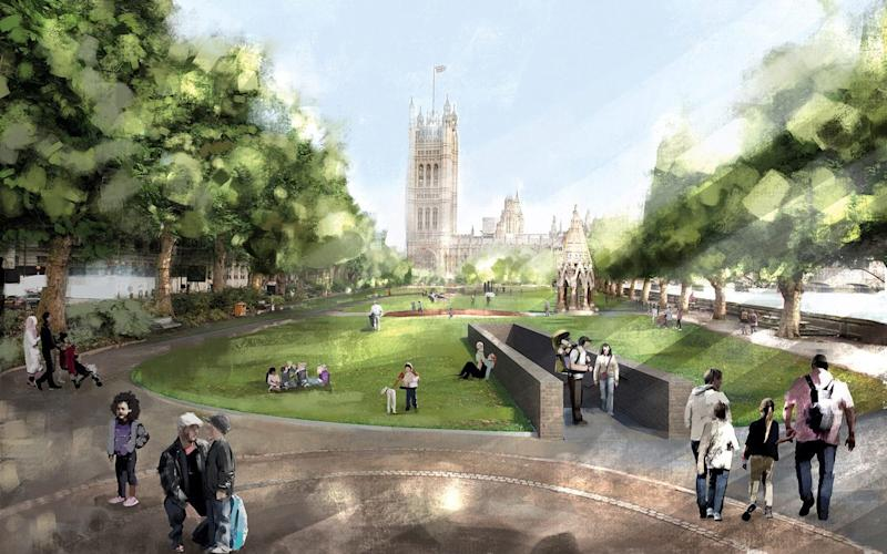 Foster + Partners and Michal Rovner - Credit: UK Holocaust Memorial International Design Competition