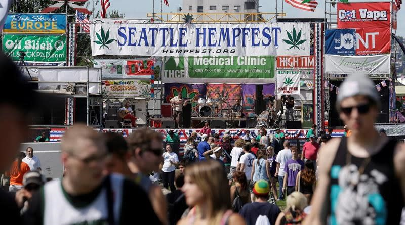 As Vancouver fights over 4-20, Seattle's Hempfest enjoys tolerance, some support