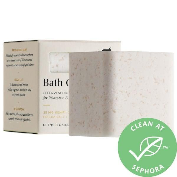 <p>Your nerves are no match for this <span>Prima Bath Gem 25mg CBD Bath Soak</span> ($16). It's made with epsom salt, hemp extract, and moisturizing oils to help you relax and de-stress in the best way.</p>