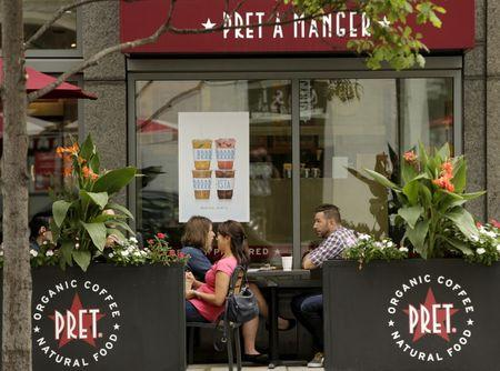 Pret A Manger's sales are beefed up as it goes more veggie