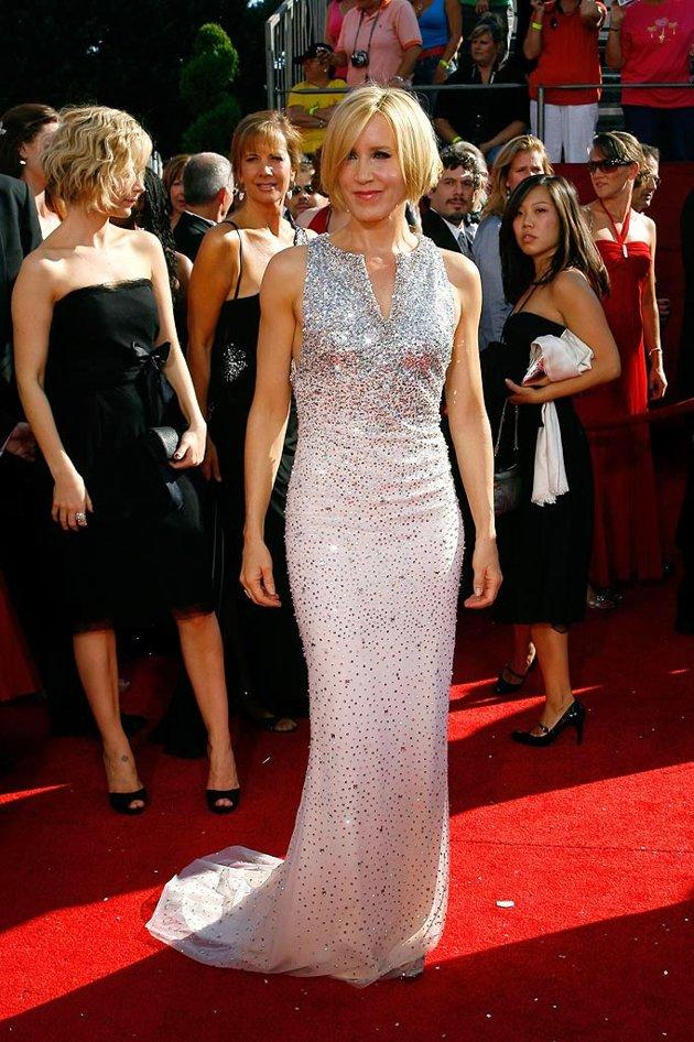 BEST: Felicity Huffman at the 60th Primetime Emmy Awards held at Nokia Theatre on September 21, 2008.