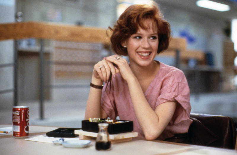 Molly Ringwald played Claire in