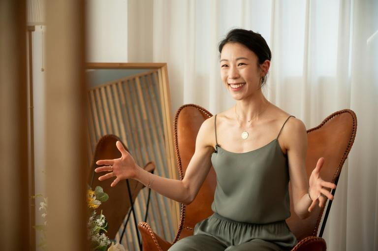 Sae Eun Park is the first Asian ballerina to reach the top etoile rank in the Paris Opera Ballet's 352-year history (AFP/Yelim LEE)