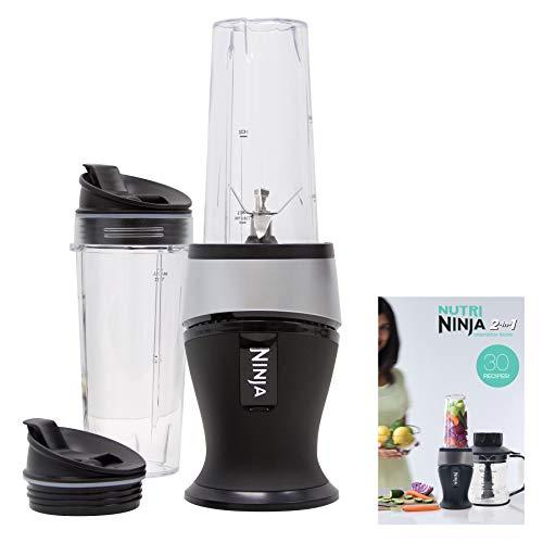 Ninja Personal Blender for Shakes, Smoothies, Food Prep, and Frozen Blending with 700-Watt Base and (2) 16-Ounce Cups with Spout Lids (QB3001SS) (Amazon / Amazon)