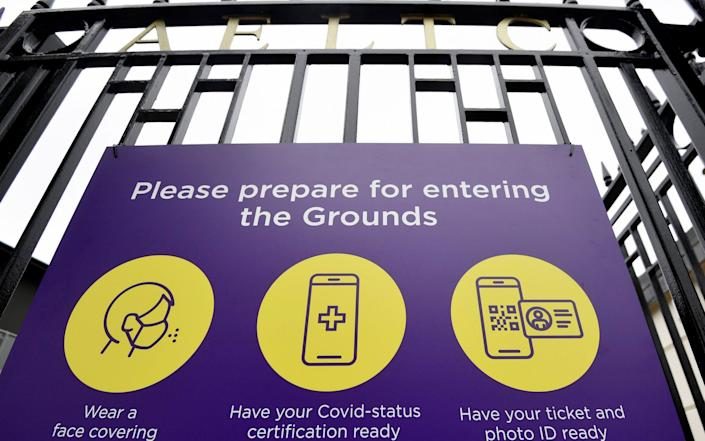 Wimbledon is getting ready to welcome back fans this week - Toby Melville/Reuters