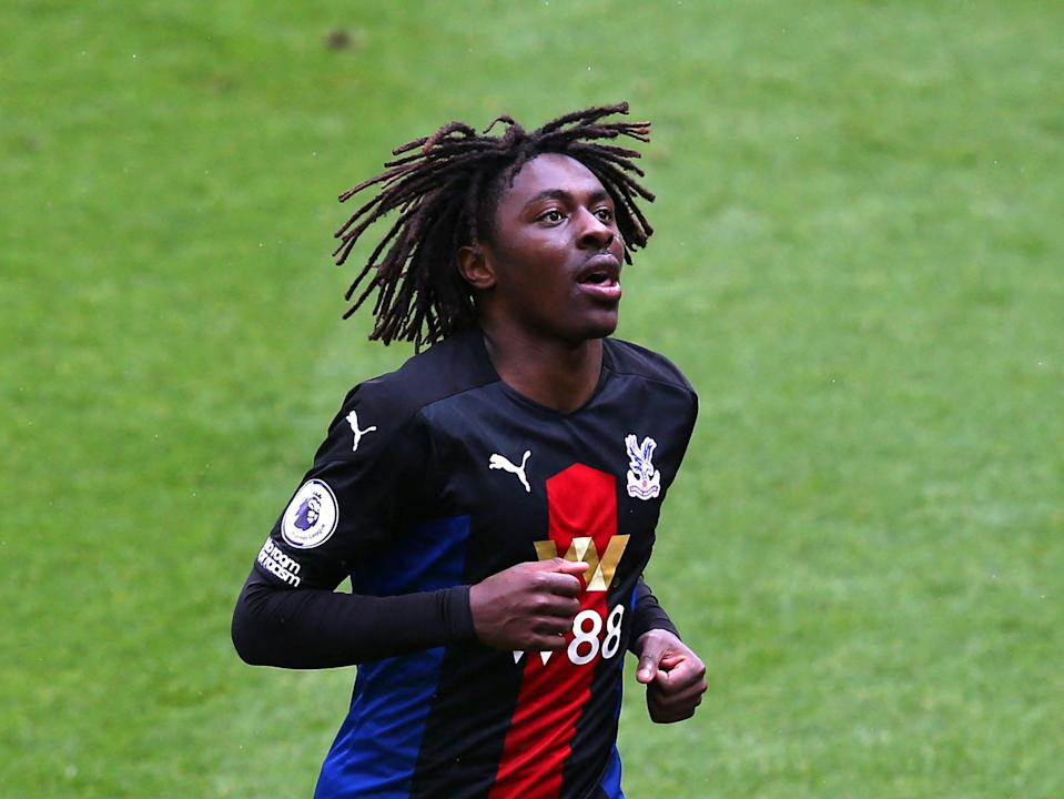 <p>Eberechi Eze has been in form for Palace</p> (Getty)