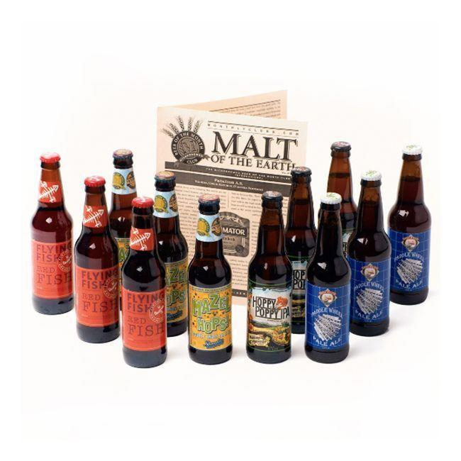 """<p>beermonthclub.com</p><p><strong>$46.95</strong></p><p><a href=""""https://www.beermonthclub.com/the-u-s-microbrewed-beer-club"""" rel=""""nofollow noopener"""" target=""""_blank"""" data-ylk=""""slk:Shop Now"""" class=""""link rapid-noclick-resp"""">Shop Now</a></p><p>This monthly beer subscription gives you the most <del>bang</del> bottles for your buck. Each box comes with a dozen 12-oz bottles (three bottles of four styles) from various microbreweries from around the country, allowing him to imbibe and support small businesses simultaneously. </p>"""