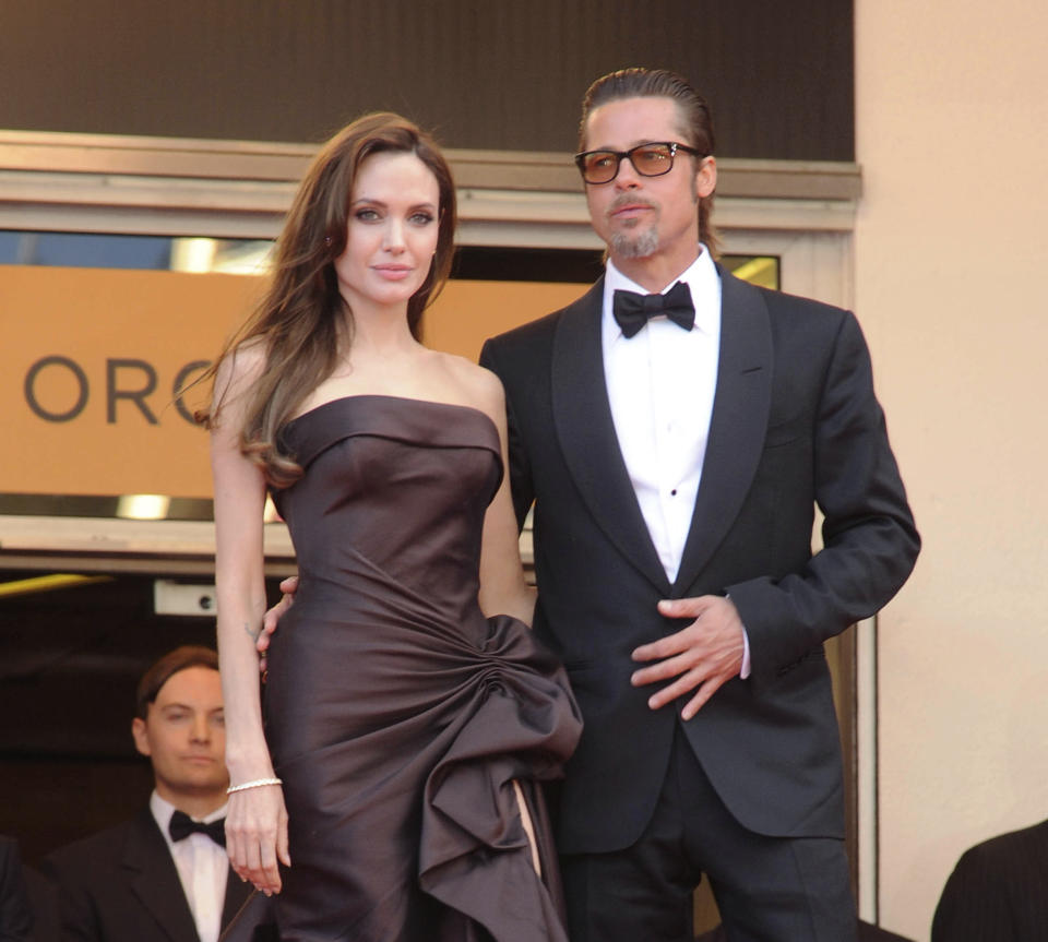 August 11th 2020 - Angelina Jolie seeks the removal of a private judge in her ongoing divorce case against former husband Brad Pitt. - File Photo by: zz/DP/AAD/STAR MAX/IPx 2011 5/16/11 Brad Pitt and Angelina Jolie at a screening of