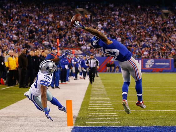 Beckham has carved out a reputation as one of the best receivers in the NFL (Getty)