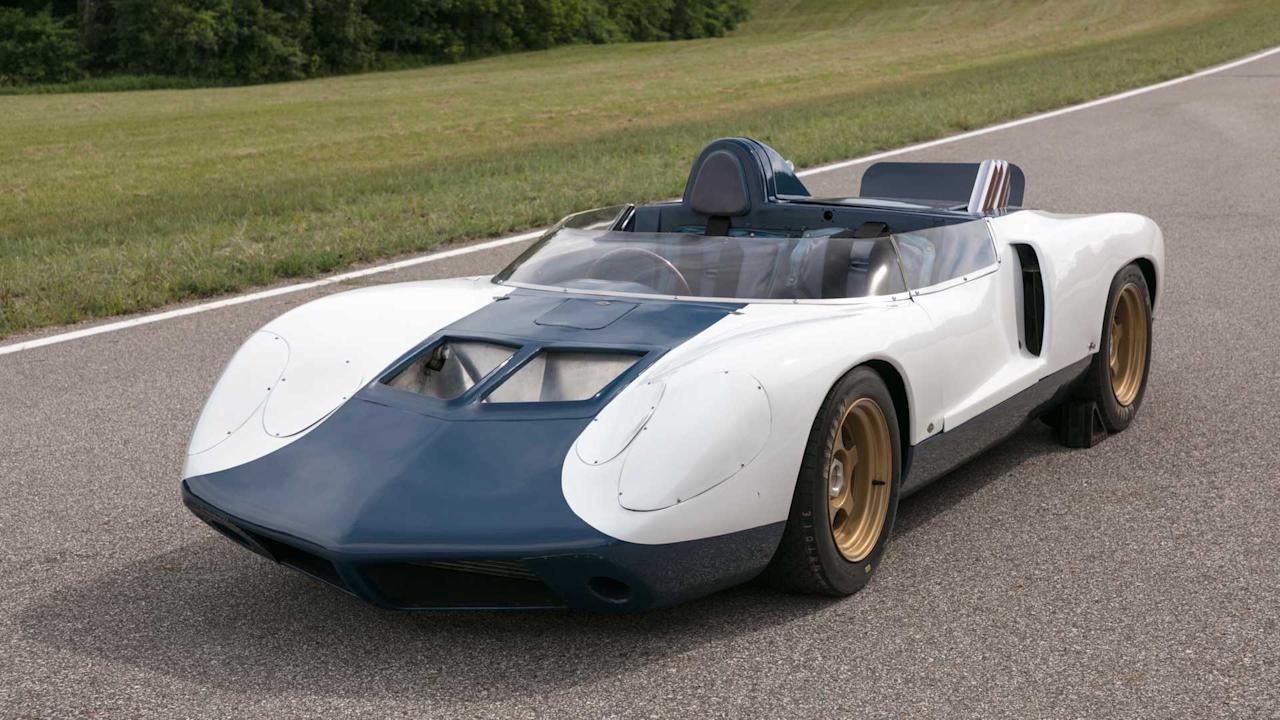 "<p>Duntov's next step towards the mid-engined Corvette, was to build a LeMans type racer to compete in endurance races open to experimental cars. The original plan called for the production of six units of this vehicle, which unsurprisingly was named CERV-II. The first unit was finished in early 1964, just as the Corvair debacle began to unfold. GM pulled the plug on all racing activities while unconventional engine placements within the company got a huge black eye. The only CERV-II ever built was used as a demonstration and test vehicle. Both the CERV-I and CERV-II went to private ownership. In 2013 the CERV-II was auctioned by RM Sotheby's for $1,100,000 (approx. £880,000). Not bad for a car that never was.</p><h2>The latest Corvette C8 news:</h2><ul><li><a href=""https://uk.motor1.com/news/360015/c8-corvette-stingray-debut/?utm_campaign=yahoo-feed"">2020 C8 Corvette will debut as a Stingray</a></li><br><li><a href=""https://uk.motor1.com/news/359706/corvette-steering-wheel-sound-unveiled/?utm_campaign=yahoo-feed"">C8 Corvette steering wheel, engine sound unveiled ahead of debut</a></li><br><li><a href=""https://uk.motor1.com/news/359002/2020-mid-engined-corvette-leak/?utm_campaign=yahoo-feed"">2020 mid-engined C8 Corvette allegedly leaks in full</a></li><br><li><a href=""https://uk.motor1.com/news/358655/mid-engine-corvette-rear-leaked/?utm_campaign=yahoo-feed"">Mid-engined Chevy Corvette rear end design possibly leaked</a></li><br></ul>"