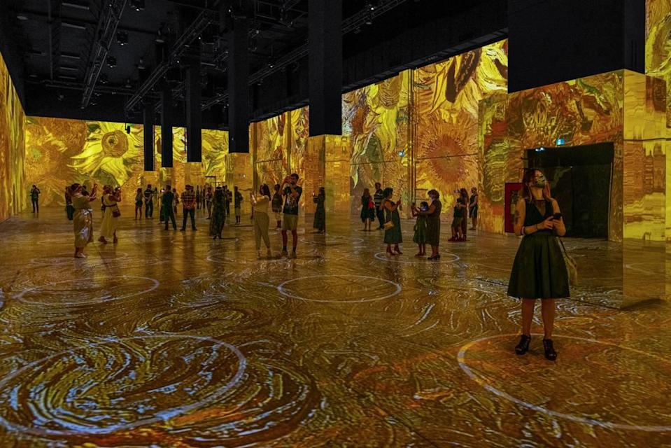 The Immersive Van Gogh Exhibit drew over 2 million visitors in Paris, and had sold-out runs in Toronto, Chicago, Los Angeles and San Francisco. Now it's coming to Charlotte.