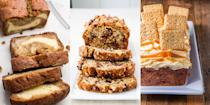 "<p>A good banana bread is everything. It's crumbly, flavourful and one of life's best pleasures. And you can tell we love it so much, because we pretty much have a recipe for every occasion. From our <a href=""https://www.delish.com/uk/cooking/recipes/a28826174/best-banana-bread-recipe/"" rel=""nofollow noopener"" target=""_blank"" data-ylk=""slk:Classic Banana Bread"" class=""link rapid-noclick-resp"">Classic Banana Bread</a>, to our <a href=""https://www.delish.com/uk/cooking/recipes/a28826443/cheesecake-stuffed-banana-bread-recipe/"" rel=""nofollow noopener"" target=""_blank"" data-ylk=""slk:Cheesecake Stuffed Banana Bread"" class=""link rapid-noclick-resp"">Cheesecake Stuffed Banana Bread</a>, and everything in between (including our <a href=""https://www.delish.com/uk/cooking/recipes/a28831362/banana-bread-french-toast-recipe/"" rel=""nofollow noopener"" target=""_blank"" data-ylk=""slk:Banana Bread French Toast"" class=""link rapid-noclick-resp"">Banana Bread French Toast</a>), check out some of our favourite recipes now. </p>"