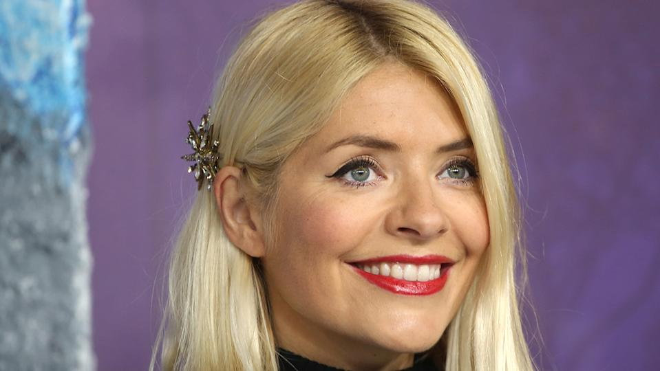 Holly Willoughby's latest M&S dress has just dropped online. (Getty Images)