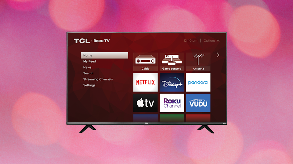 Save $120 on this TCL 40-inch HD Smart LED Roku TV (40S325). (Photo: Amazon)