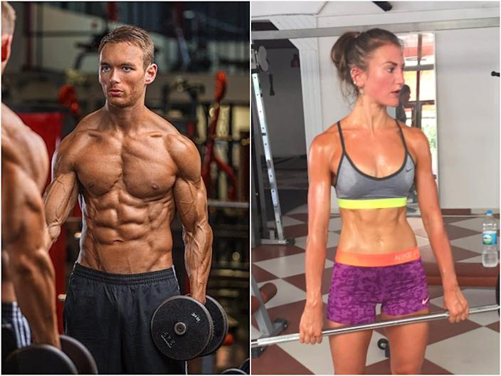 "Ben Carpenter and Hayley Madigan at some of their leanest times. <p class=""copyright"">Ben Carpenter/Hayley Madigan</p>"