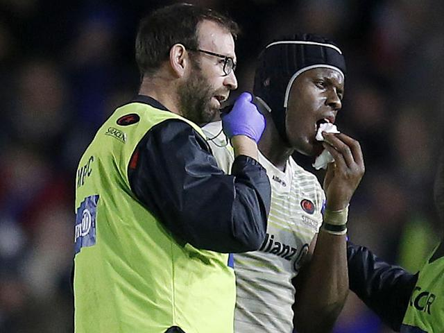 Maro Itoje is an injury doubt for England's Six Nations campaign: Rex