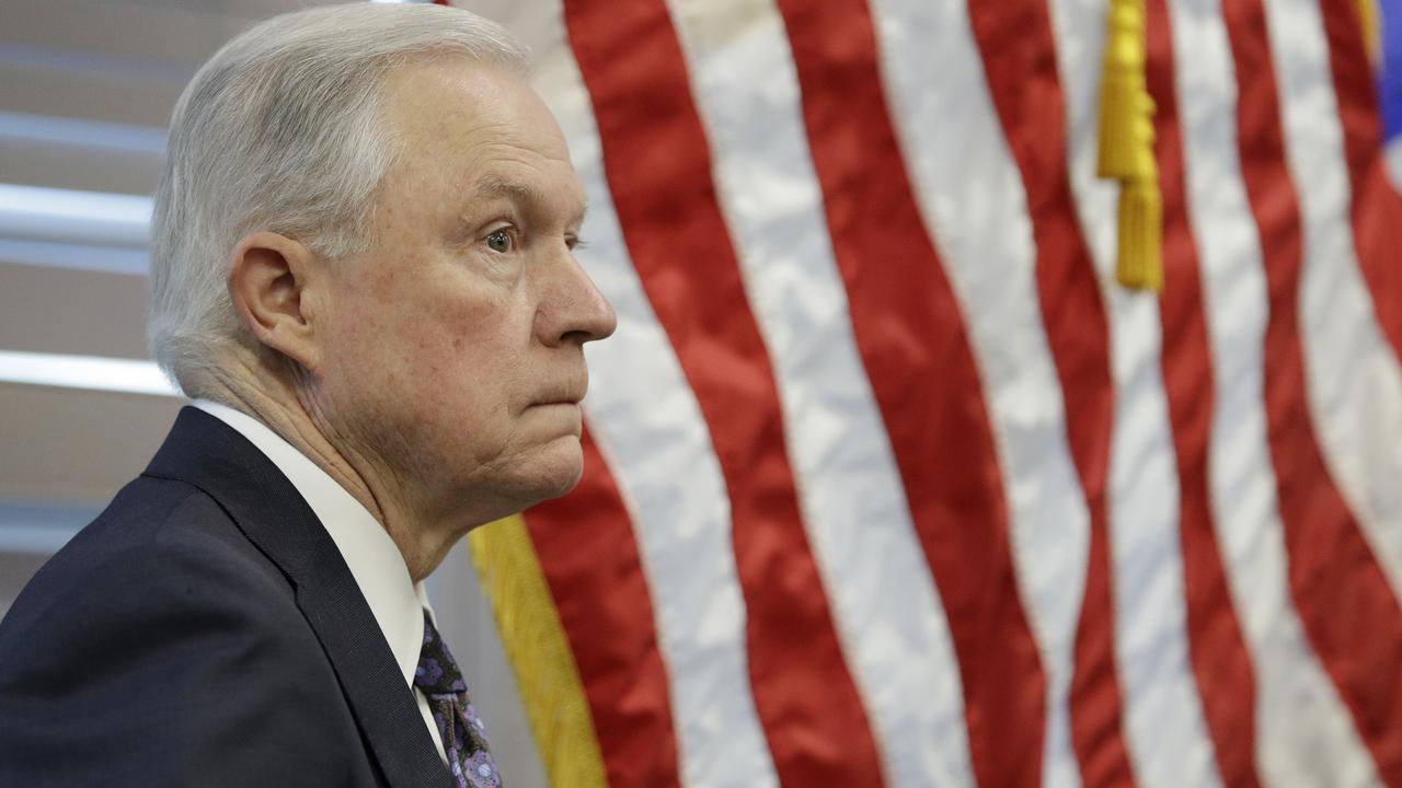 <p>Donald Trump has slammed Attorney-General Jeff Session for recusing himself from the Russia probe </p>