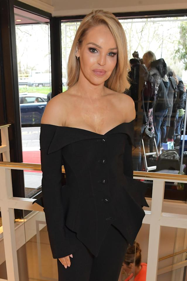 Katie Piper is the first person to give advice on the 60 second series. (Getty Images)