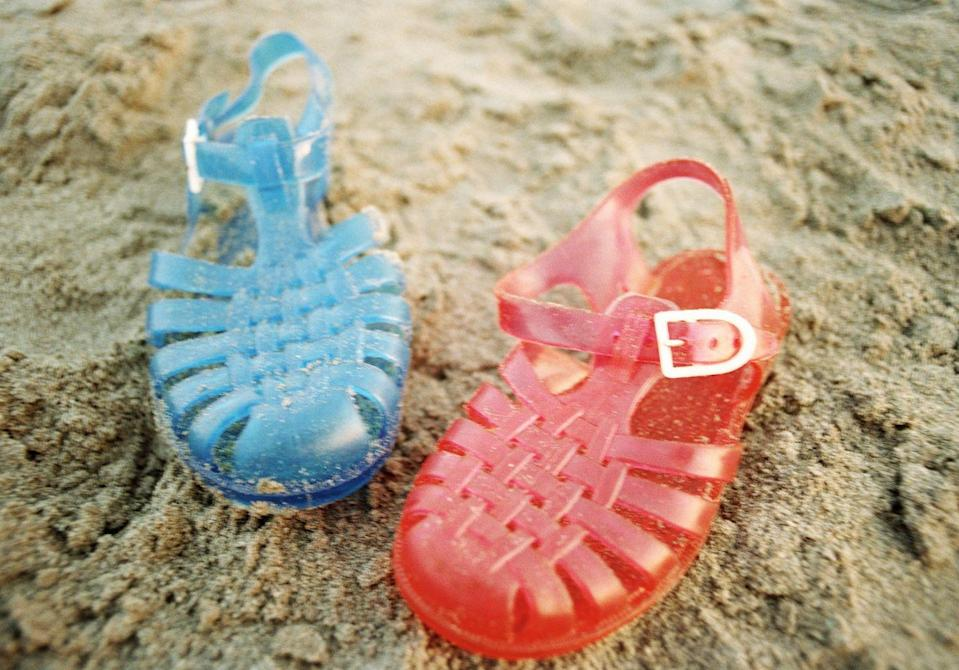 <p>They were waterproof, pretty, and way cooler than flip-flops. Plus, it pissed your mom off when you insisted on wearing them for dressy occasions. Jelly sandals 4 life!</p>