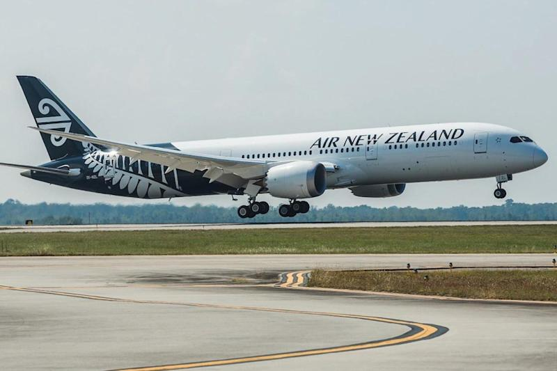 Ground control: Air New Zealand is being forced to cancel dozens of flights using the Boeing 787-9: Air New Zealand