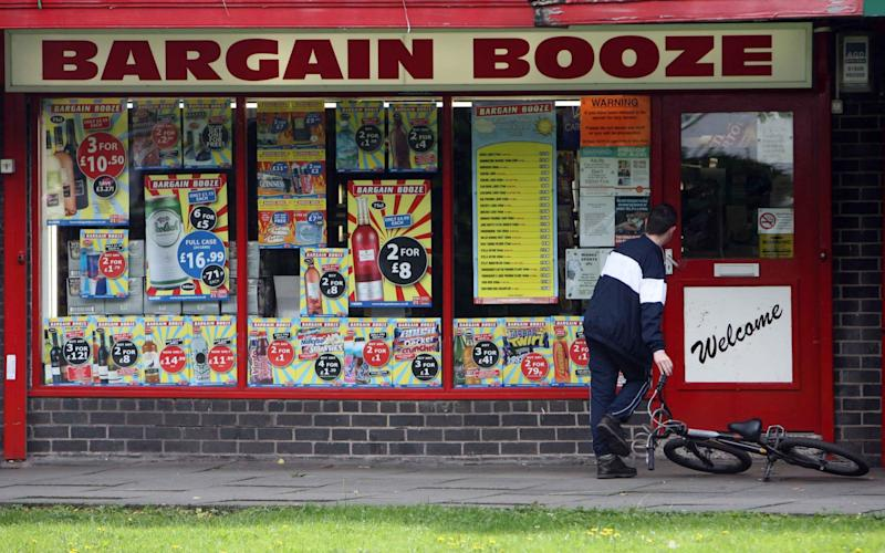 The owner of Bargain Booze, Conviviality, is the latest high street shop owner to launch dramatic rescue plans - Paul Grover