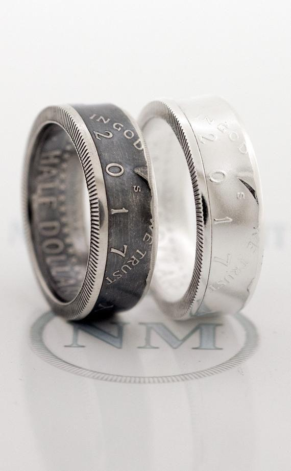 """<p><strong>NashvilleMint</strong></p><p>etsy.com</p><p><strong>$80.00</strong></p><p><a href=""""https://go.redirectingat.com?id=74968X1596630&url=https%3A%2F%2Fwww.etsy.com%2Flisting%2F240390839%2Fcoin-ring-2000-silver-coinring-half&sref=https%3A%2F%2Fwww.seventeen.com%2Flove%2Fdating-advice%2Fadvice%2Fg606%2Fboyfriend-gifts%2F"""" rel=""""nofollow noopener"""" target=""""_blank"""" data-ylk=""""slk:Shop Now"""" class=""""link rapid-noclick-resp"""">Shop Now</a></p><p>This is coin collecting for the stylish guy. Each piece of jewelry is made with a real US Kennedy Half Dollar Coin minted in 2000.</p>"""