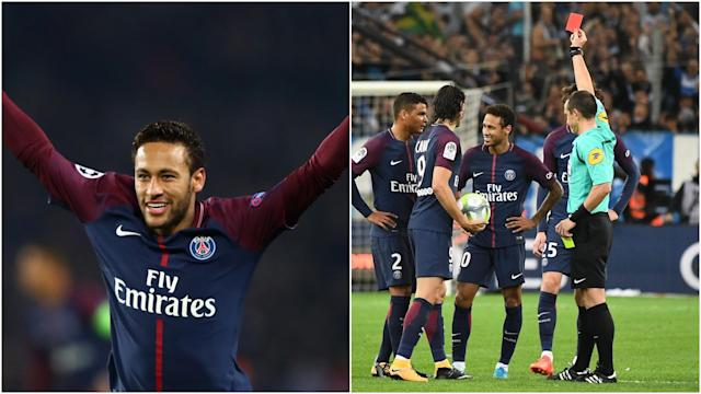Despite their star man being out with an injured foot PSG have claimed the Ligue 1 title - but how did Neymar's first season at the club go?