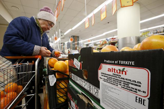 Russia Bans Turkey Food Imports, Travel Could be Next