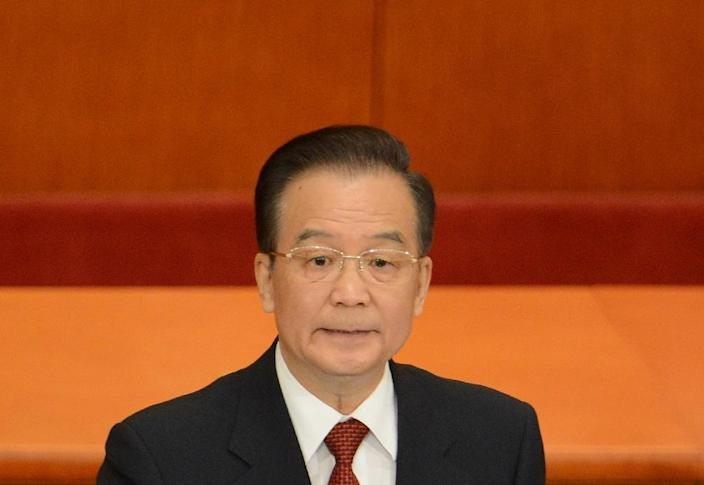 In 1999, before he became China's prime minister, Wen Jiabao warned that water scarcity posed one of the greatest threats to the 'survival of the nation' (AFP Photo/Goh Chai Hin)