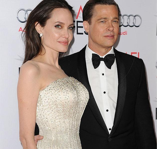 Angelina announced her divorce with Brad Pitt overnight. Source: Getty