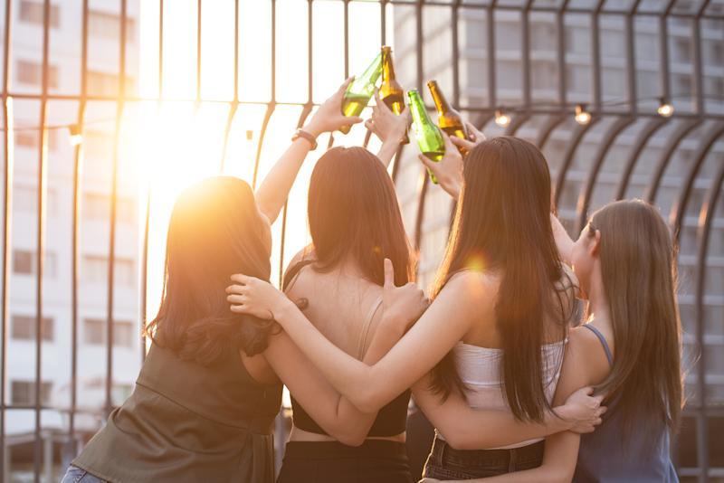 Young women are identified as the surprise demographic with the most cases in Australia and it's been put down to their social lives. Source: Getty, file.