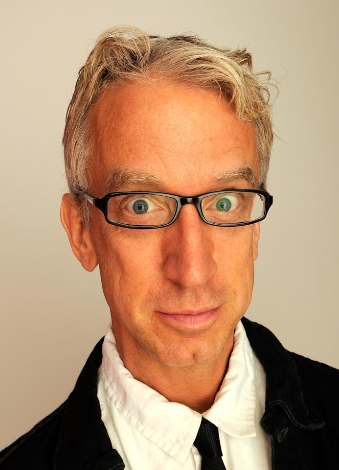 NEW YORK, NY - APRIL 22:  Actor Andy Dick of the film 'Freaky Deaky' visits the Tribeca Film Festival 2012 portrait studio at the Cadillac Tribeca Press Lounge on April 22, 2012 in New York City.  (Photo by Larry Busacca/Getty Images)