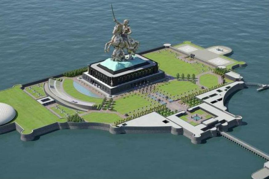 <p>Mumbai Trans Harbour Link, Shivaji Memorial: Spanning 22.5 km, the Mumbai Trans Harbour Link will be India's longest sea bridge, linking Mumbai with its satellite city, Navi Mumbai. The project will cost around Rs 18,000 crore and will be completed by 2019. </p>