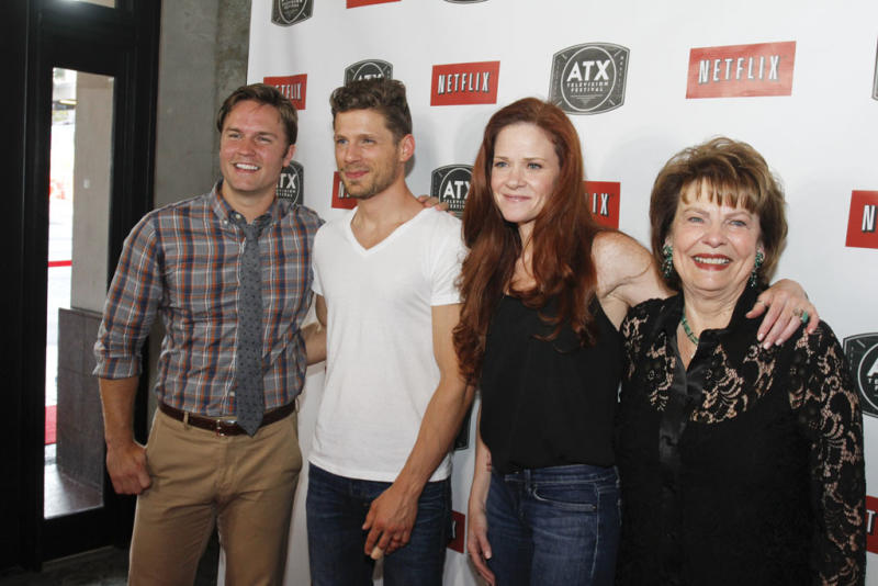 """The cast of """"Friday Night Lights"""" attends the ATX Television Festival on Thursday, June 6, 2013 in Austin, Texas."""