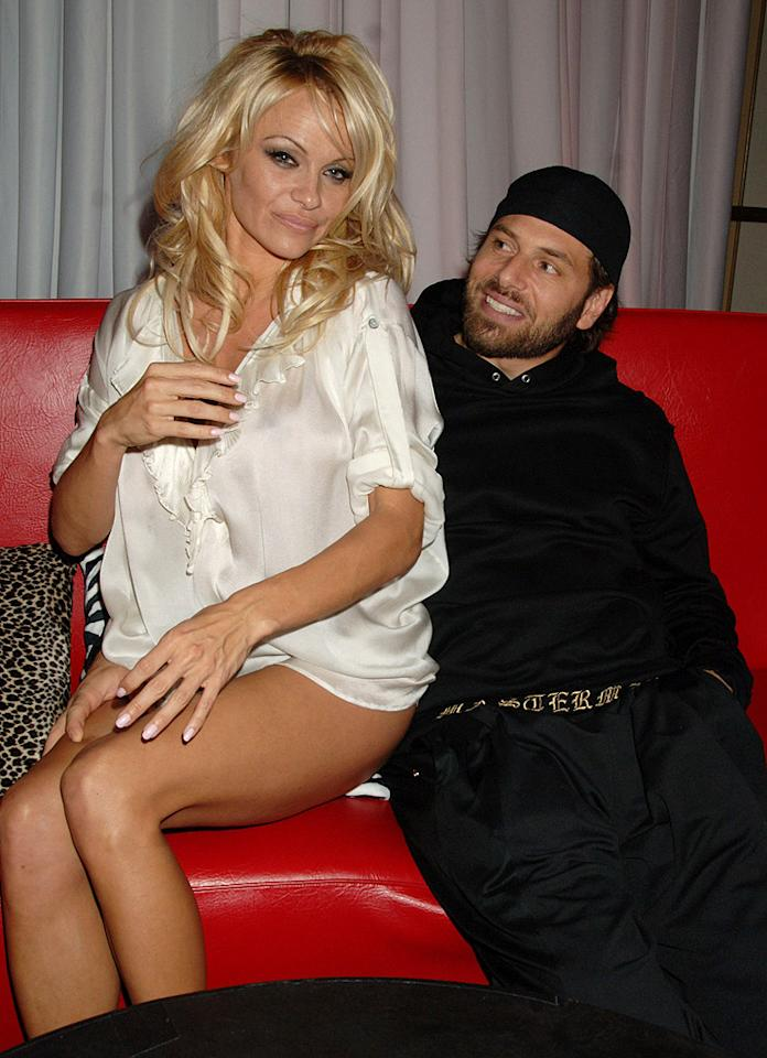 """I paid off a poker debt with sexual favors, and I fell in love,"" said  Anderson in September 2007. The lucky guy? Rick Solomon, who at that time was best known for being Paris Hilton's sex tape partner as well as the ex-husband of Shannen Doherty. Just weeks later, the two tied the knot during a 90-minute break Anderson had between her twice-nightly gigs as magician Hans Klok's assistant for his Las Vegas shows. To no one's surprise, less than two months later, the pair called it quits. Anderson eventually had the marriage annulled due to ""fraud."""