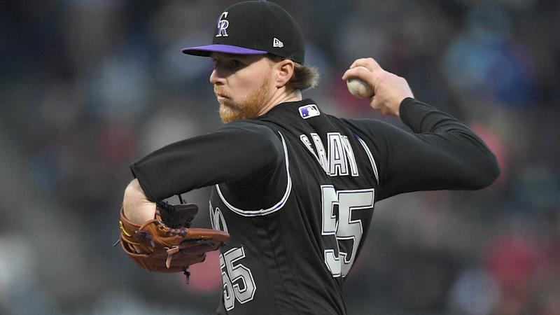 Rockies ace Jon Gray reinjures toe, will miss a month