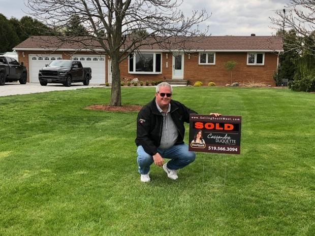 Dean Cooper sold his Woodslee home for about $100,000 over the asking price.