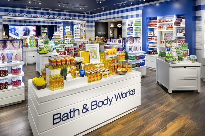 A Bath & Body Works store.