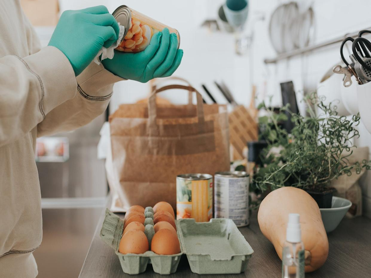 Housekeepers and private chefs who procure groceries for wealthy families sanitize every item as a safety precaution against the coronavirus.