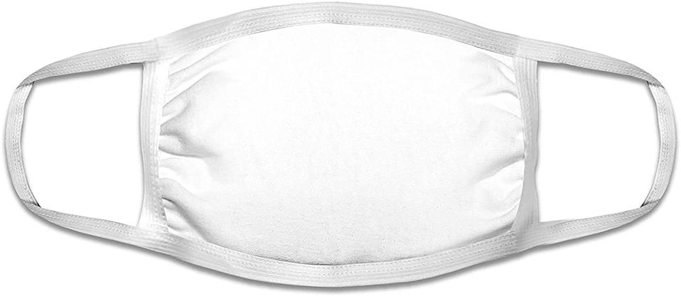 Basic Resources Single Use Disposable Face Mask (Pack of 50). Image via Amazon.
