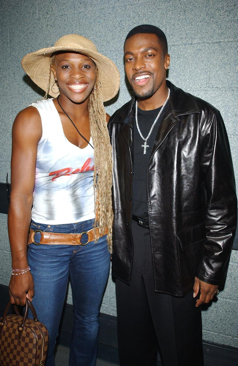 WithChris Tucker at the Michael Jackson 30th Anniversary Celebration at Madison Square Garden in New York City on Sept. 10, 2001.