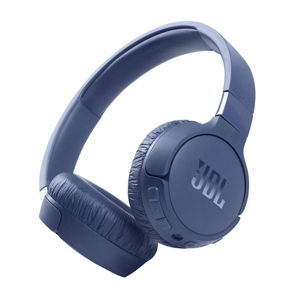 """<p><strong>JBL</strong></p><p>amazon.com</p><p><strong>$99.95</strong></p><p><a href=""""https://www.amazon.com/dp/B08WNGRSVV?tag=syn-yahoo-20&ascsubtag=%5Bartid%7C2089.g.37113159%5Bsrc%7Cyahoo-us"""" rel=""""nofollow noopener"""" target=""""_blank"""" data-ylk=""""slk:Shop Now"""" class=""""link rapid-noclick-resp"""">Shop Now</a></p><p><strong>Key Features</strong><br><br>• 32-millimeter audio drivers with JBL Pure Bass sound<br>• Active noise cancellation<br>• Hands-free virtual assistant access<br>• Up to 55 hours of battery life (44 with noise cancellation)</p><p>JBL's Tune 660NC wireless noise-canceling headphones are the best for thrifty buyers. The sub-$100 cans have a utilitarian design, a compact on-ear fit, an entertaining sound with powerful bass, robust noise cancellation, and up-to-date Bluetooth 5.0 connectivity. </p><p>The Tune 660NC headphones also have an amazing battery life of up to 55 hours between charges, as well as a fast USB-C connector. They lack a companion app, but given their price tag, this is hardly a dealbreaker. JBL offers the futureproof product in black, white, and blue.</p>"""