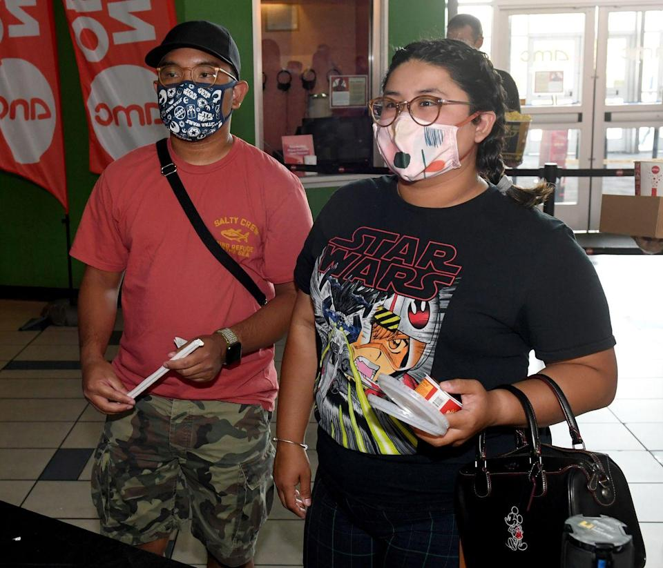 """<p>Guests get snacks before seeing the movie """"Star Wars: Episode V - The Empire Strikes Back"""" at AMC Town Square 18 on August 20 in Las Vegas, Nevada.</p>"""