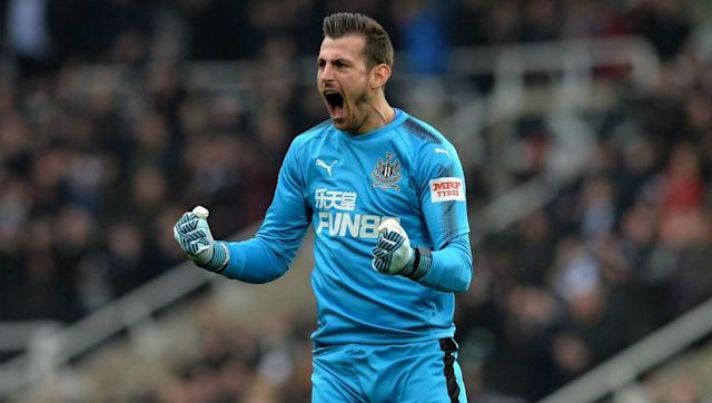​​Newcastle are expected to secure their first signing of the summer imminently after edging closer to finalising a permanent deal for goalkeeper Martin Dubravka, according to reports. The 29-year-old impressed during his loan spell at St James' Park during the second half of the season after a series of eye catching performances which helped pave the way for the Magpies' finish in the top half of the Premier League table. Led to believe it's just a matter of time until #nufc seal Dubravka on...