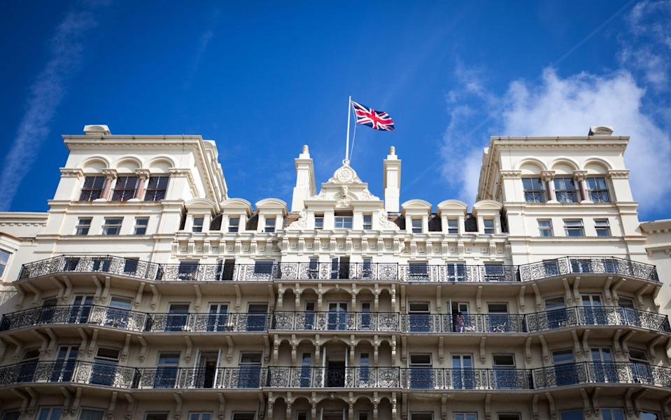Brighton's Grand Hotel has a much richer past than just the tragic events of the 1980s - PAUL MANSFIELD/GETTY
