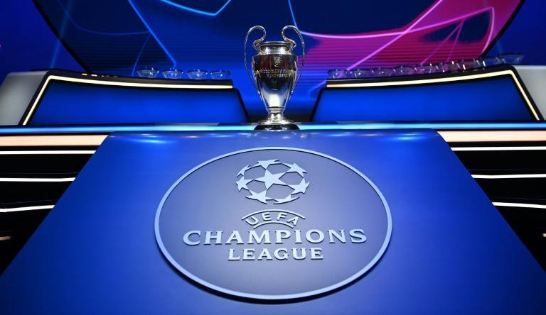 The Champions League group stage draw took place in Istanbul on Thursday (AFP/OZAN KOSE)
