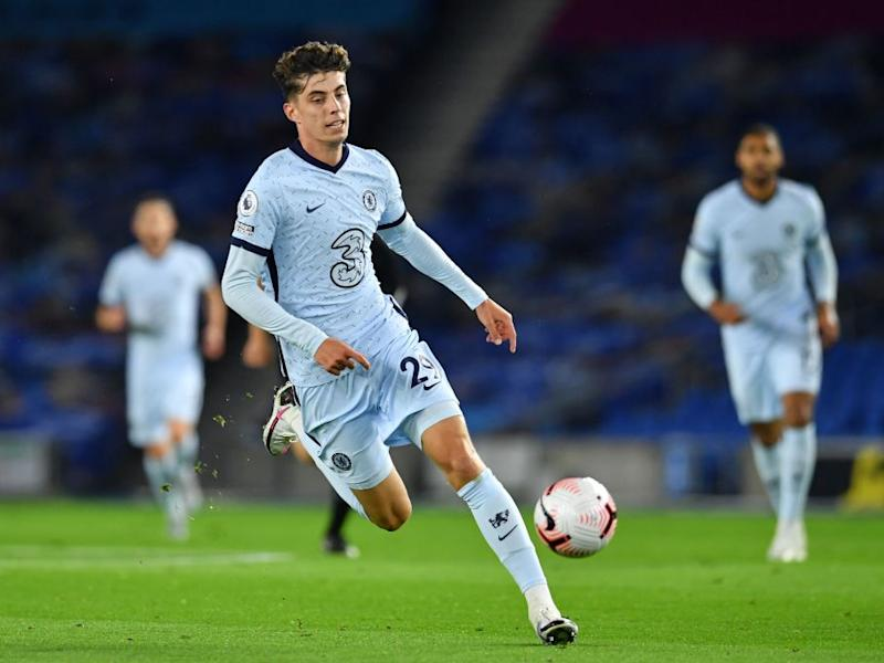 Kai Havertz is a statement signing for chelseaGetty