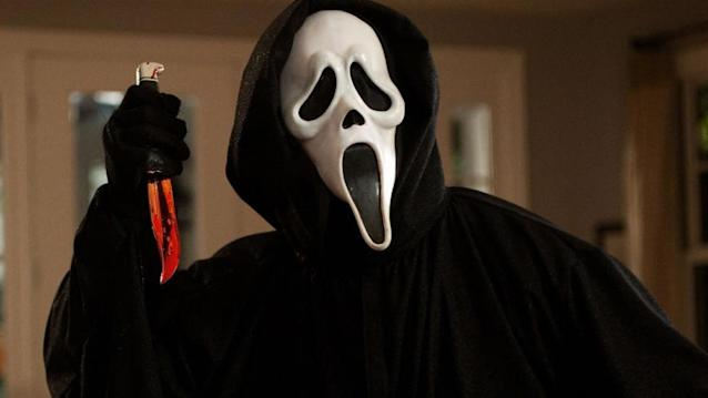 The masked Ghostface Killer first appeared in 1996 slasher movie 'Scream'. (Credit: Dimension Films)